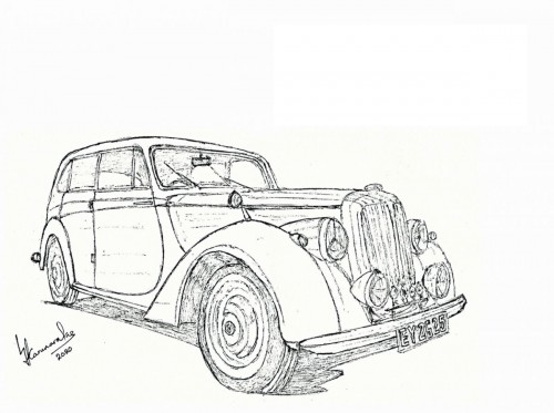 1952 Daimler DB18 Consort