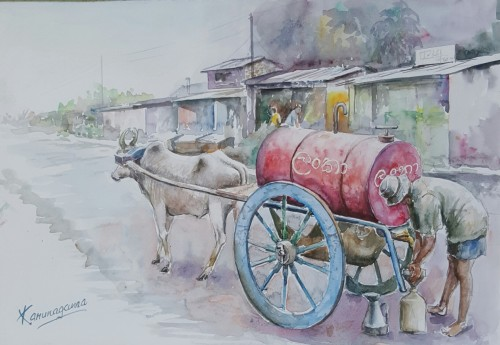 Kerosene cart