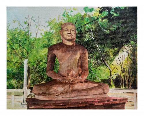 Samadi Buddha statue