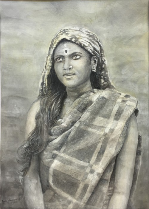Ceylon Young Tamil Woman