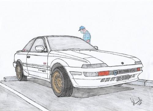 Toyota Sprinter Trueno AE91