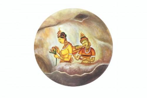 Sigiriya Frescos- Duo (Canvas)
