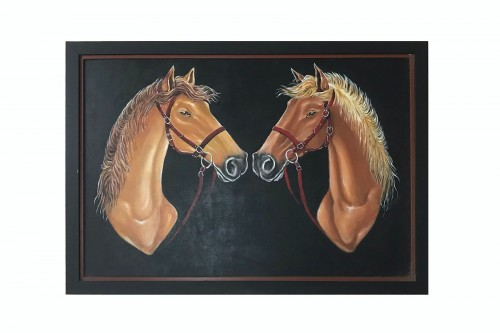 Two Horses- Canvas Painting