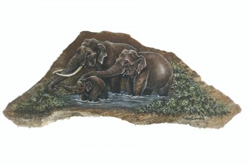 """Thunpath Raana"" (Elephants)"