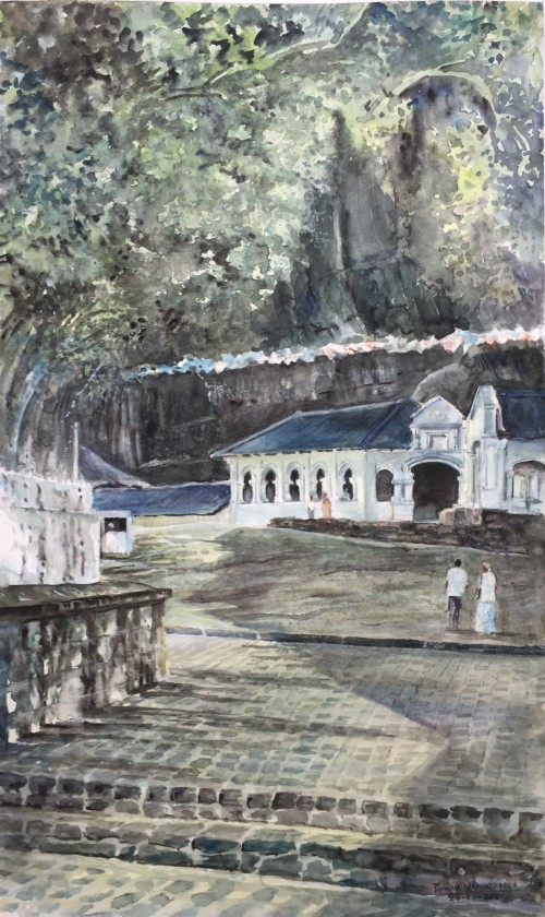 Rangiri Dambulla Cave Temple