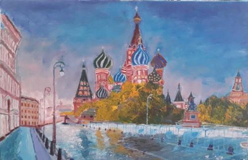Red Square  city square RUSSIA