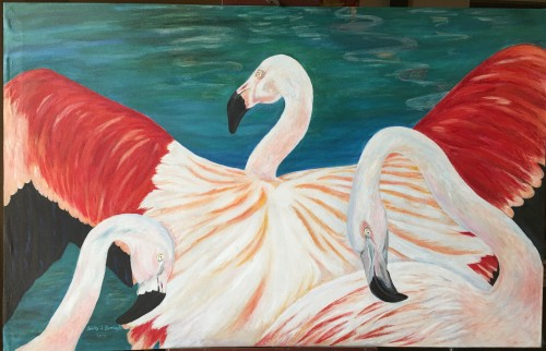 The Dance of the Flamingos