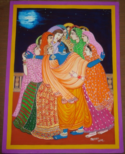 RADHAKRISHNA WITH GOPIYAN