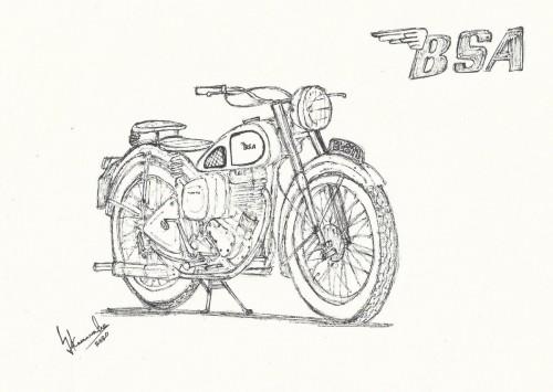 1949 BSA C11