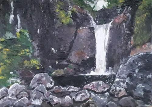 Bambarakiri Ella  _ Water Falls