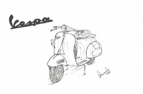 1958 Vespa VBA