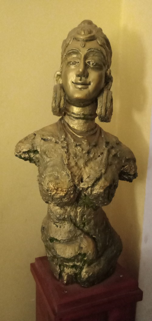 A Traditional sculpture