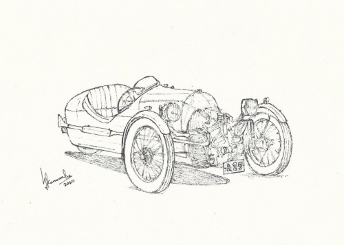 1918 Morgan V-Twin Three Wheeler