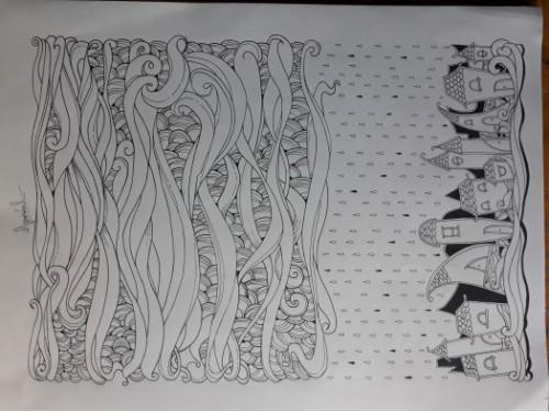 Ink Pen Drawings