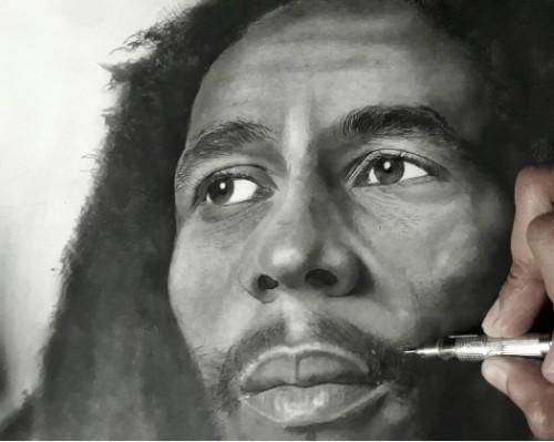 Portrait- Bob Marley