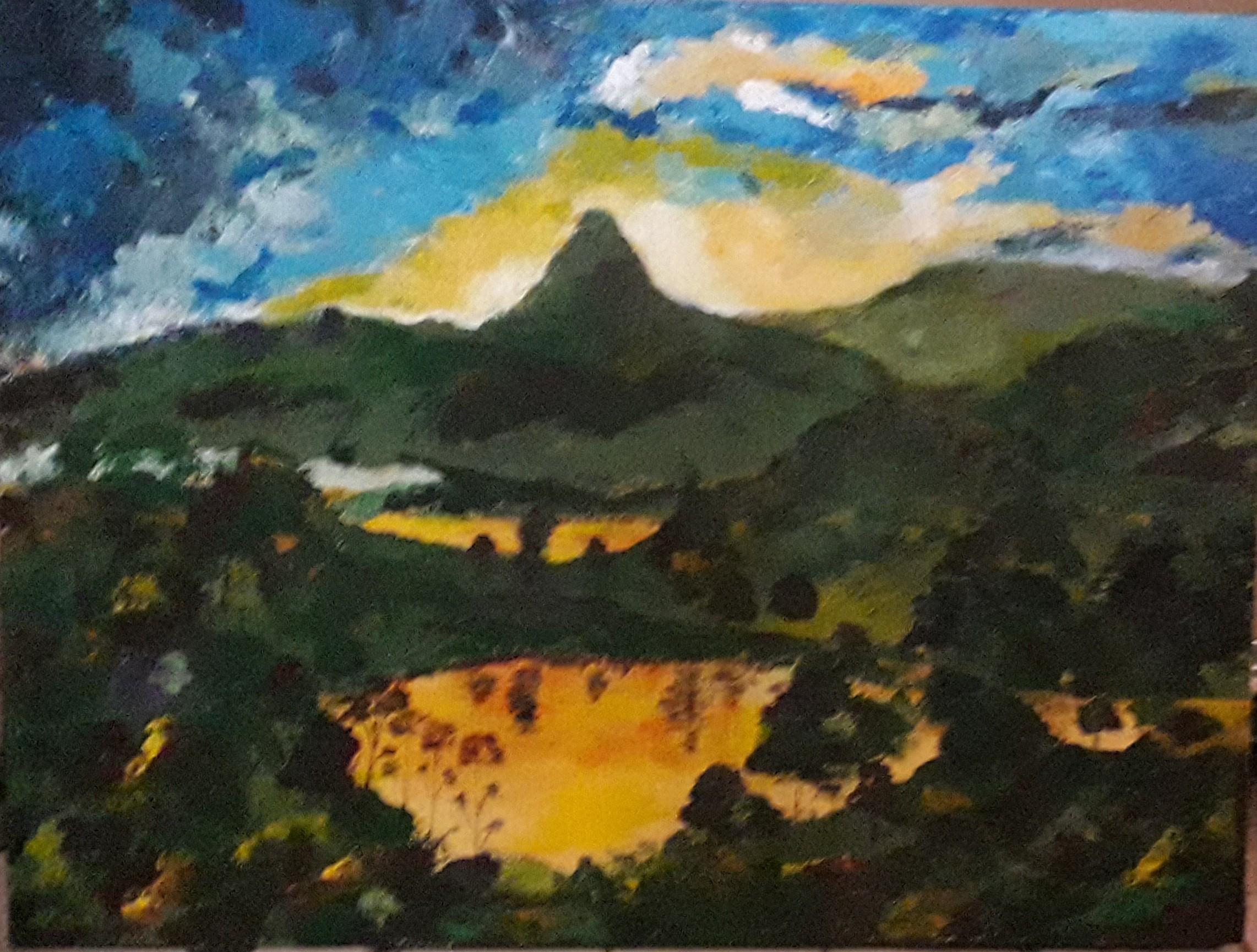 Sri Pada / Adam's Peak by Simpson David