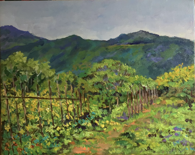Ella - view from Amba Estate I by Janaki Perera