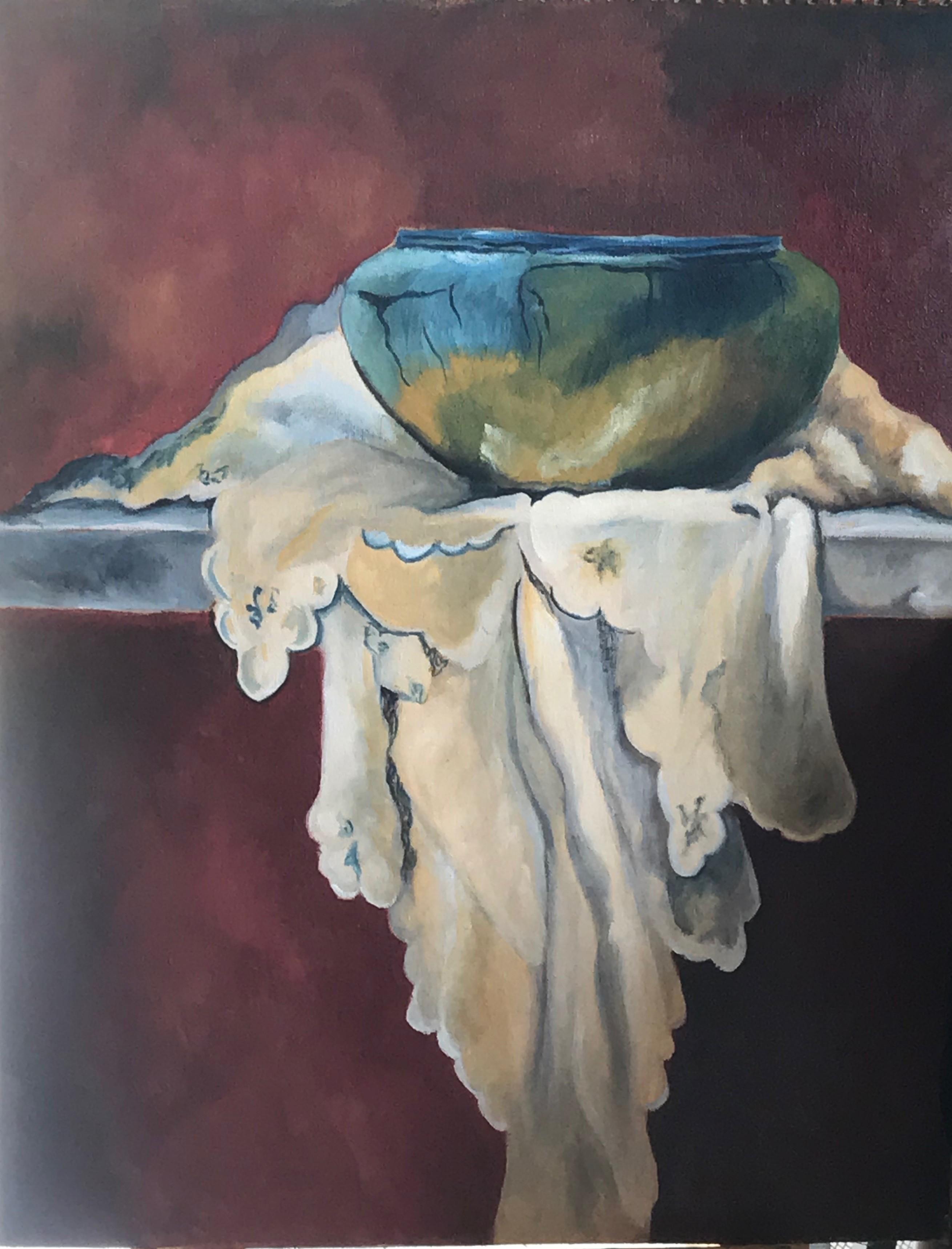 Blue bowl by Thilini De Simon