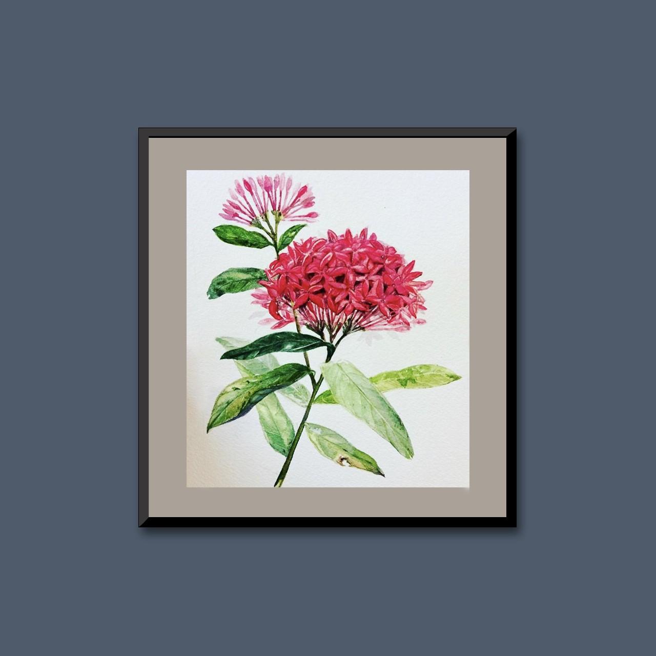 Tropical flora IV by Thilini Jinadasa