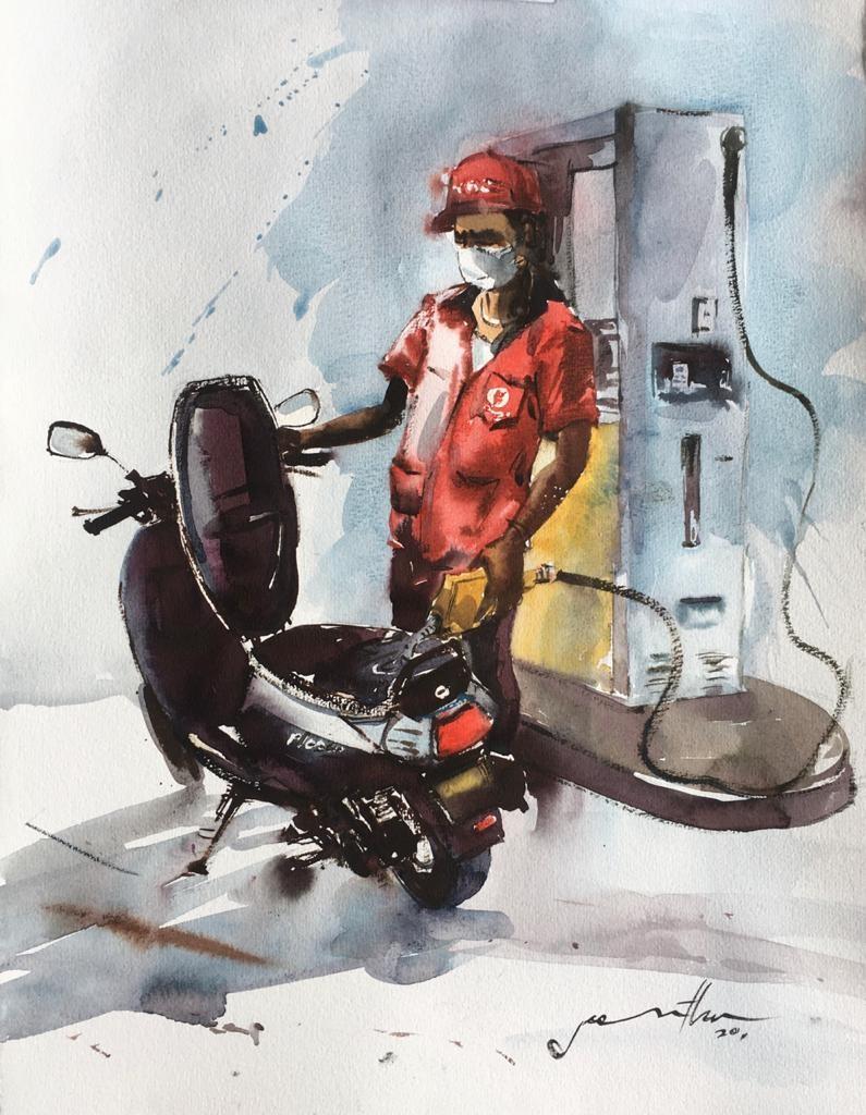 Fuel filler by Jeewantha Samarakoon