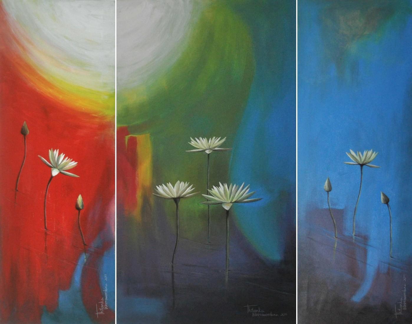 Water Lilly by Thilanka Weerawardana