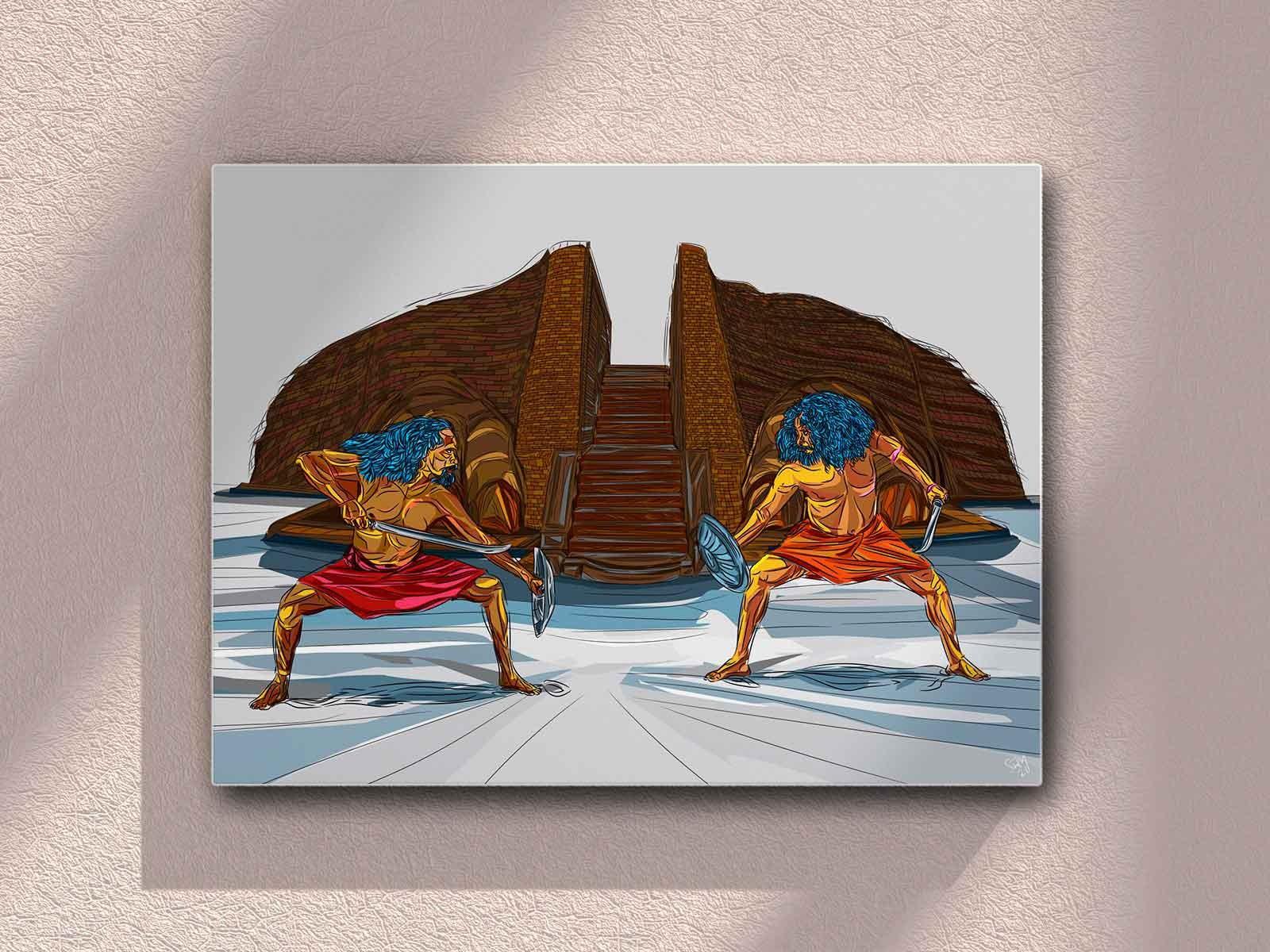 Angampora by THARINDU SAMPATH SIRIWARDANA