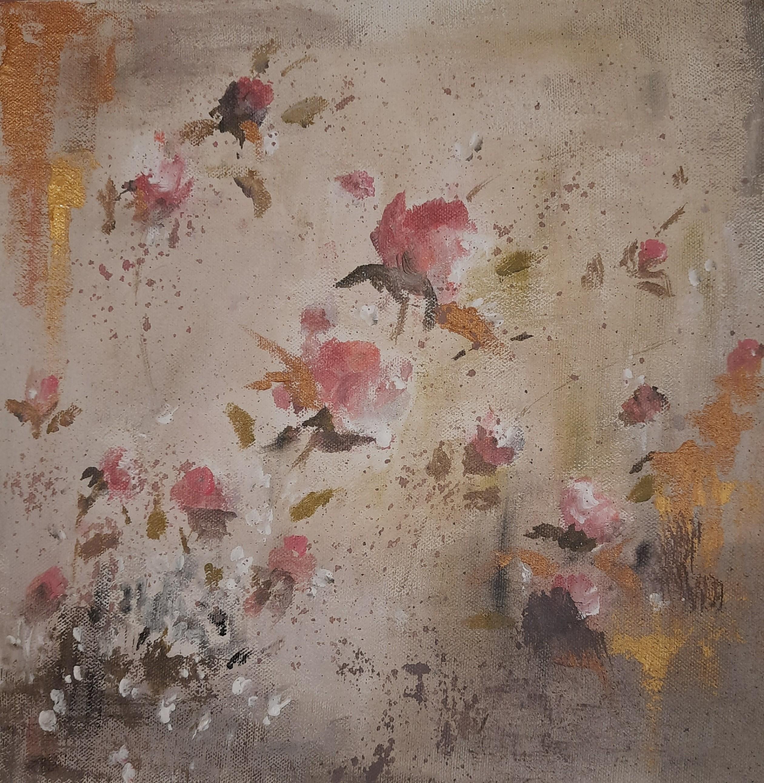 Rustic roses by Jean wijesekera