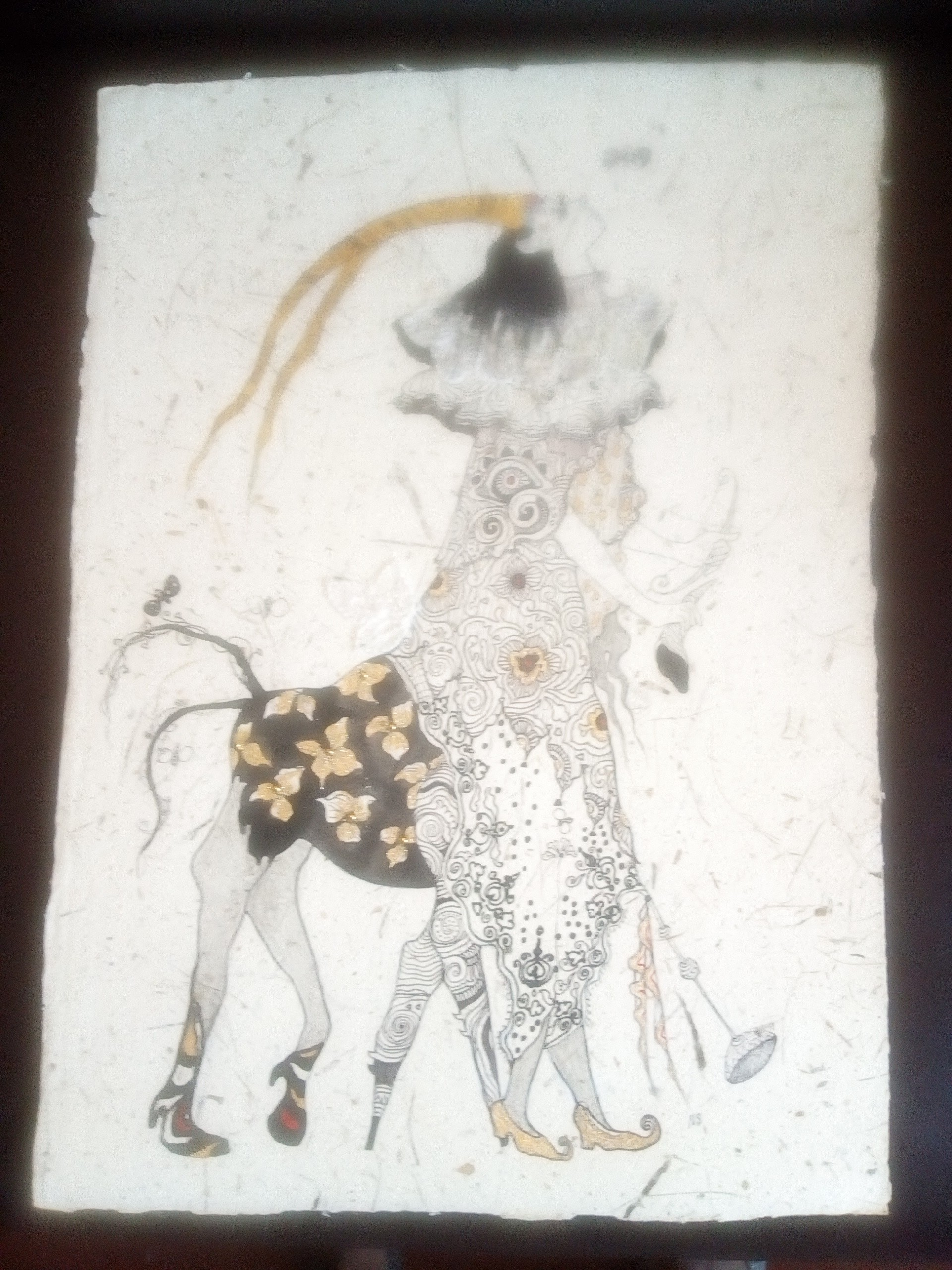 Greek god firon by Nihal Senarathna