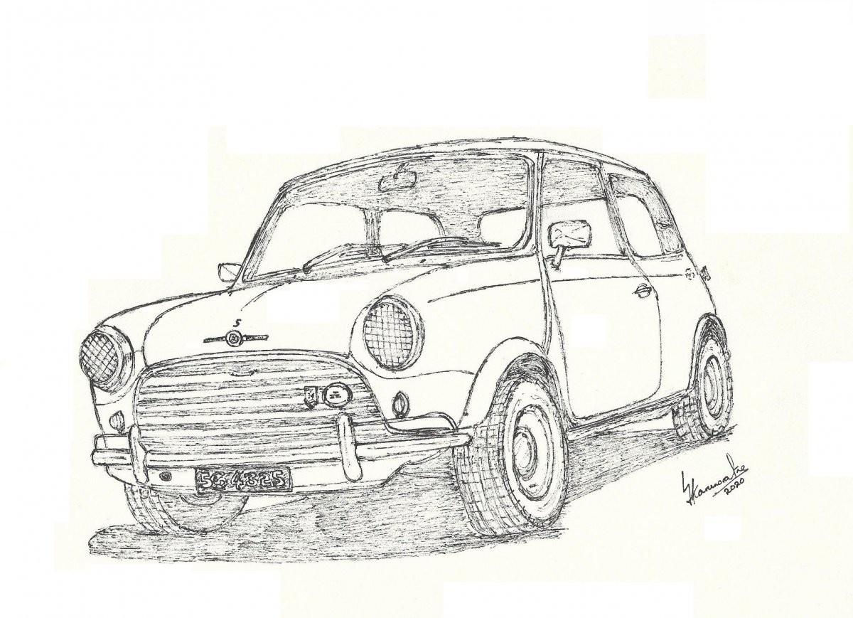 Mini Cooper S by Lahiru Karunaratne