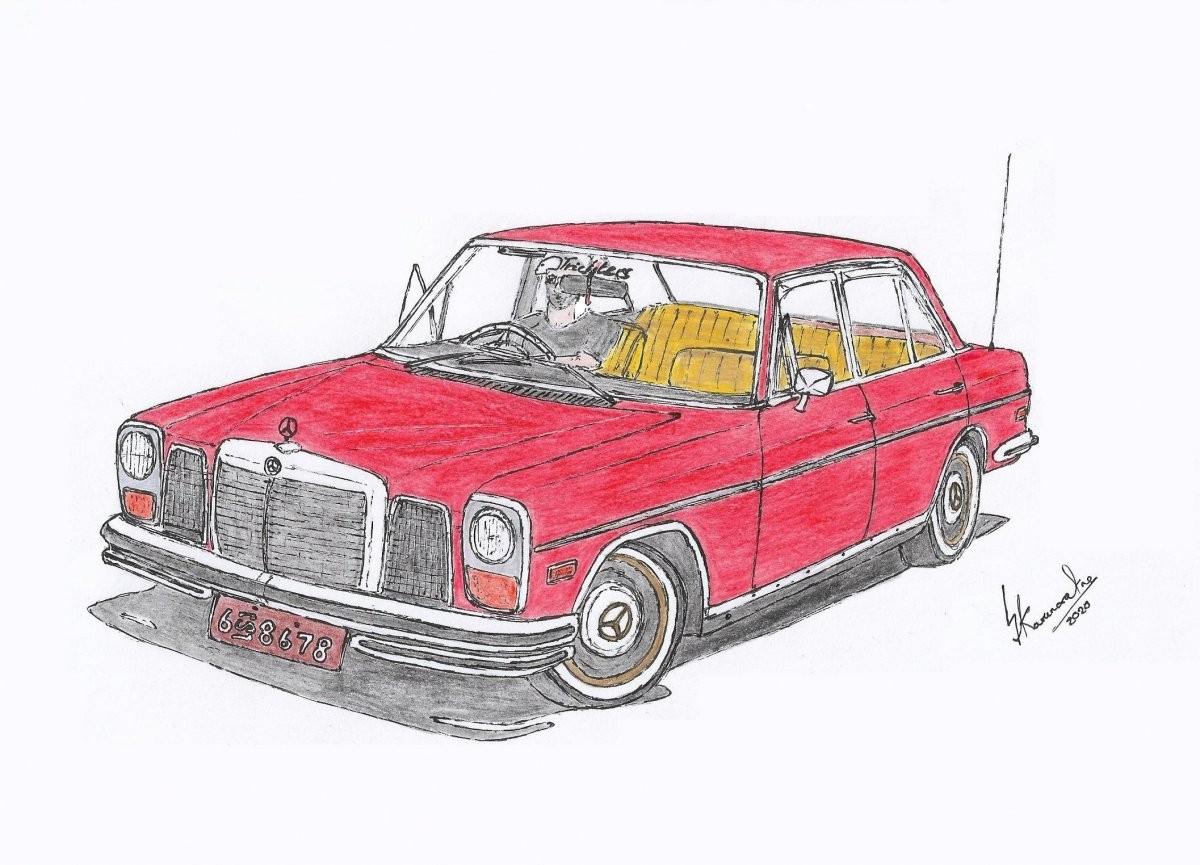 1969 Mercedes-Benz 200 W114 by Lahiru Karunaratne
