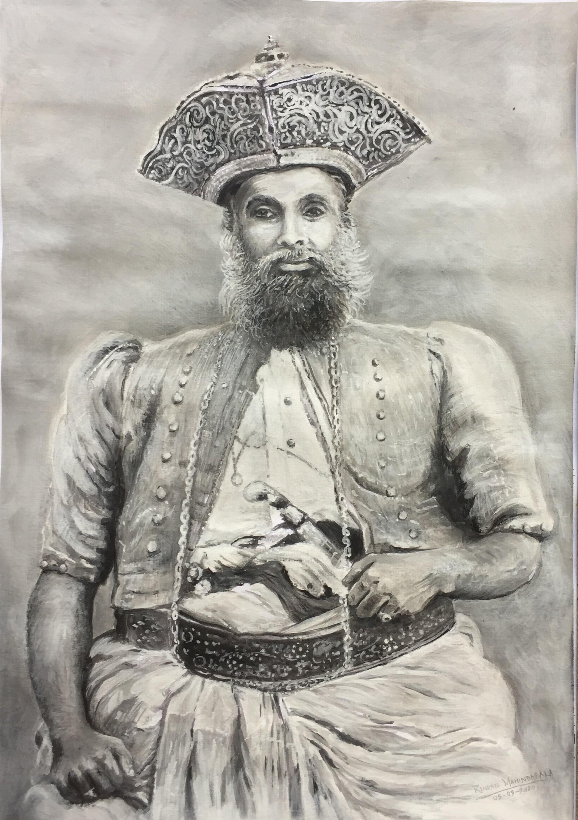 A Kandyan Chief of Ceylon by RUWAN MAHINDAPALA