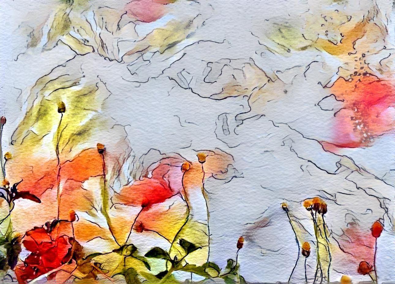 Flower Aurora by Dhanushka Devarajan