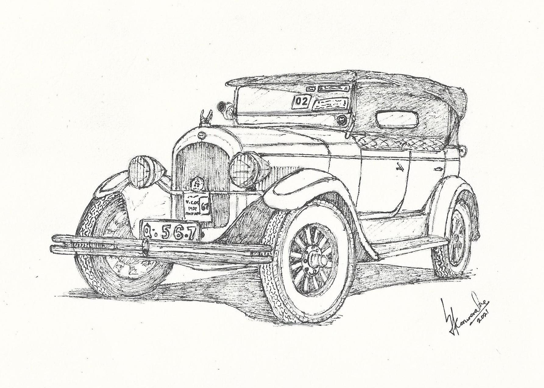 1927 Chrysler Imperial by Lahiru Karunaratne