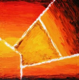 abstract art by abesekara jayantha