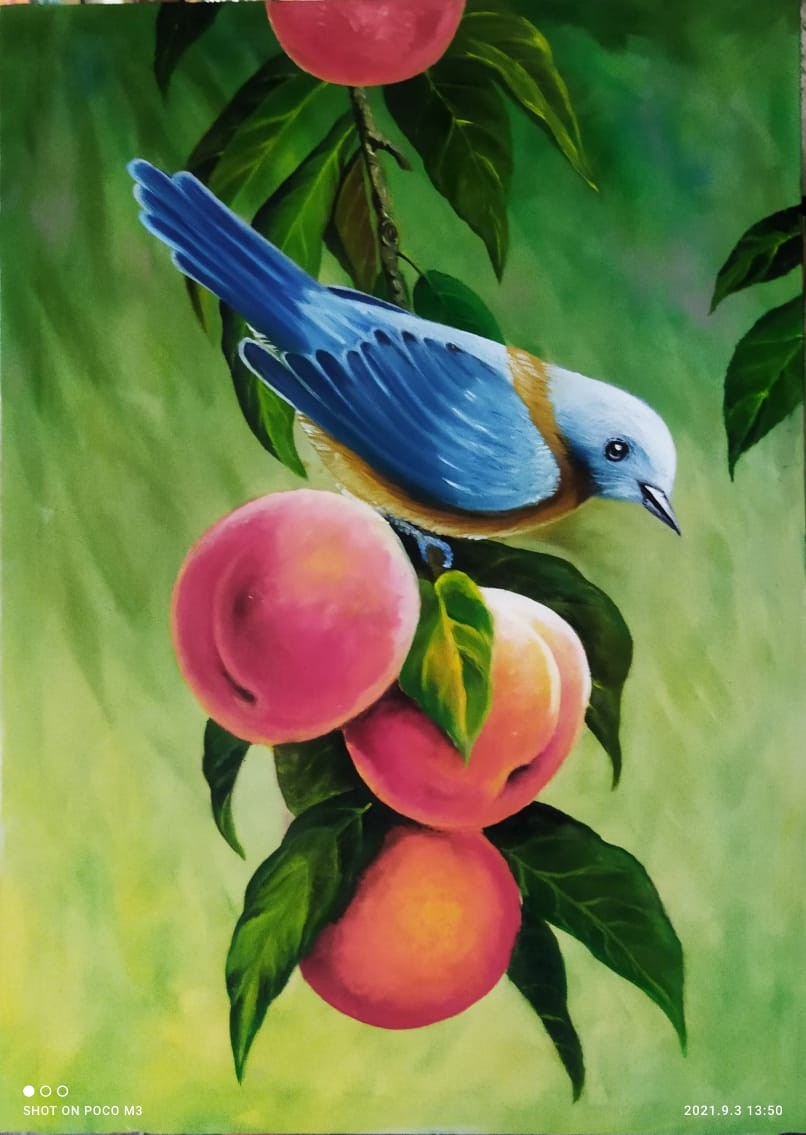 Canvas painting 🎨 by Asoka weerasighe