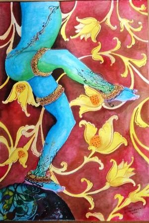 Cosmic dance by Nihal Senarathna