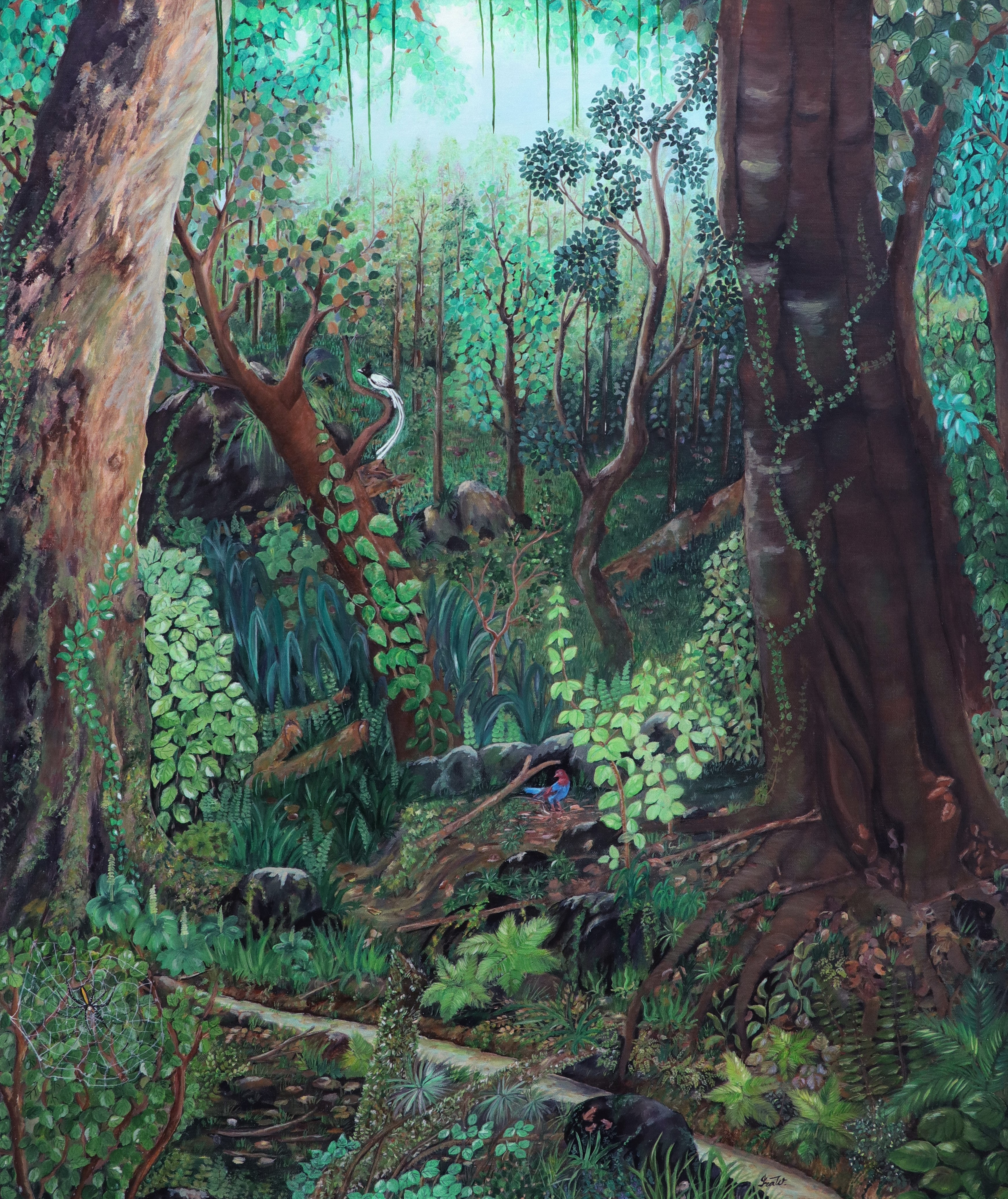 Whispers in the Forest by Iranganie Wickramasinghe