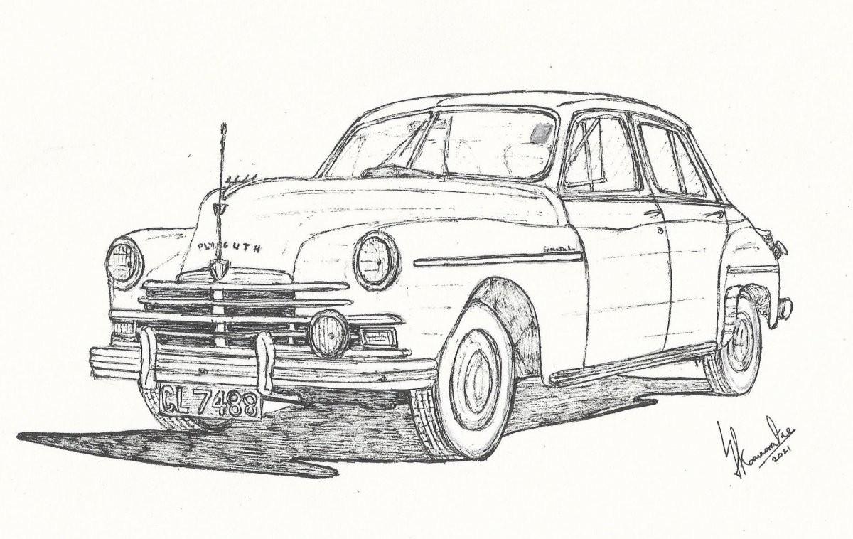 Plymouth Special Deluxe by Lahiru Karunaratne