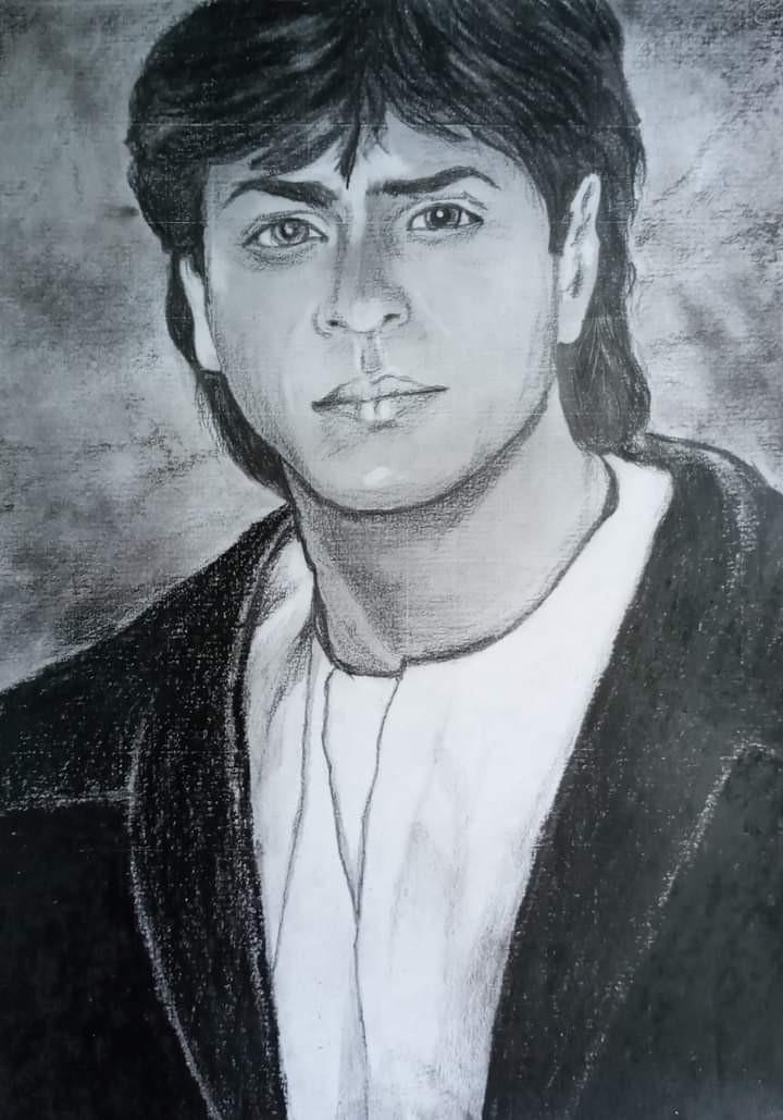 king khan sharuk by abesekara jayantha