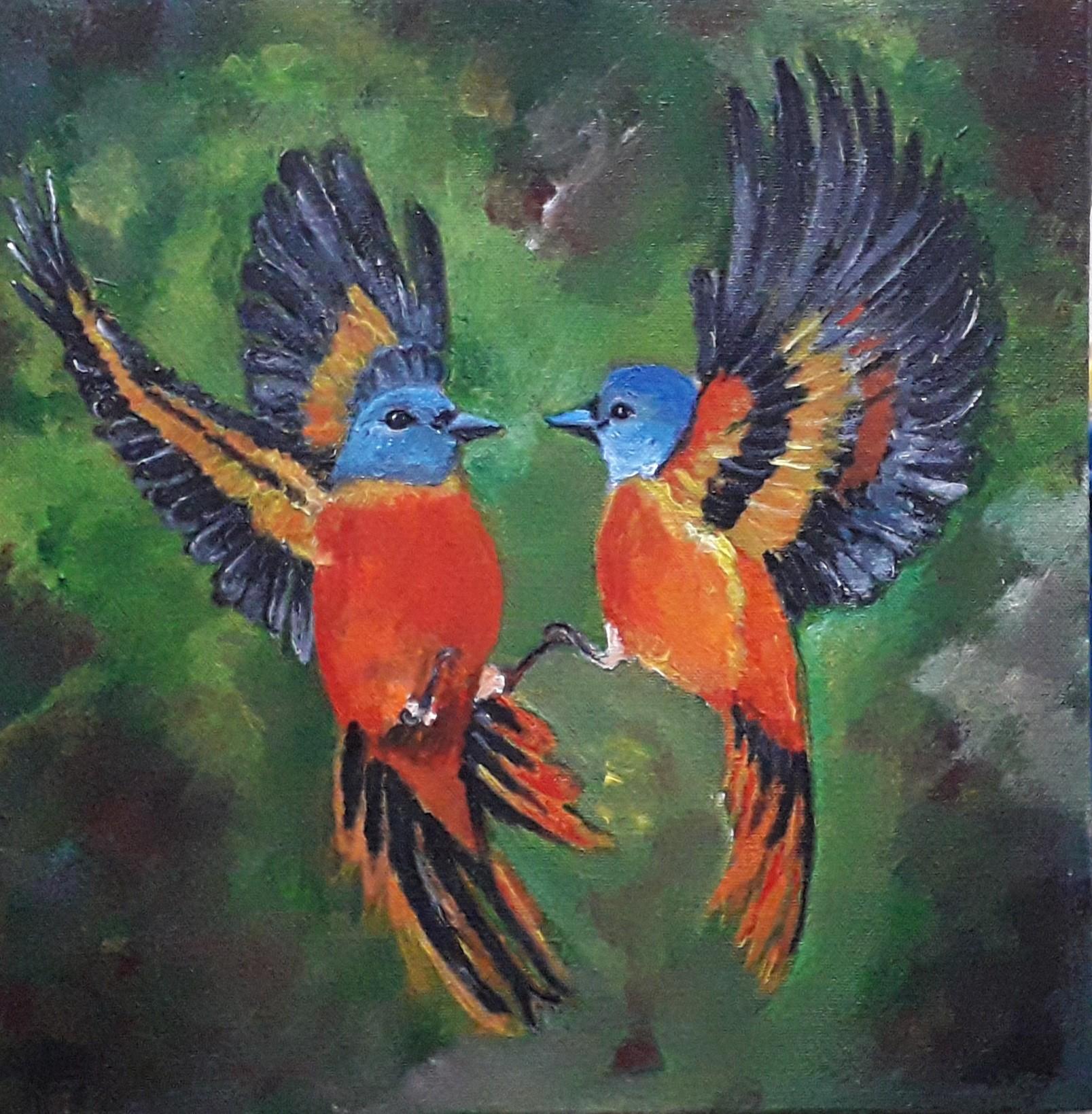 Romancing Birds by Simpson David