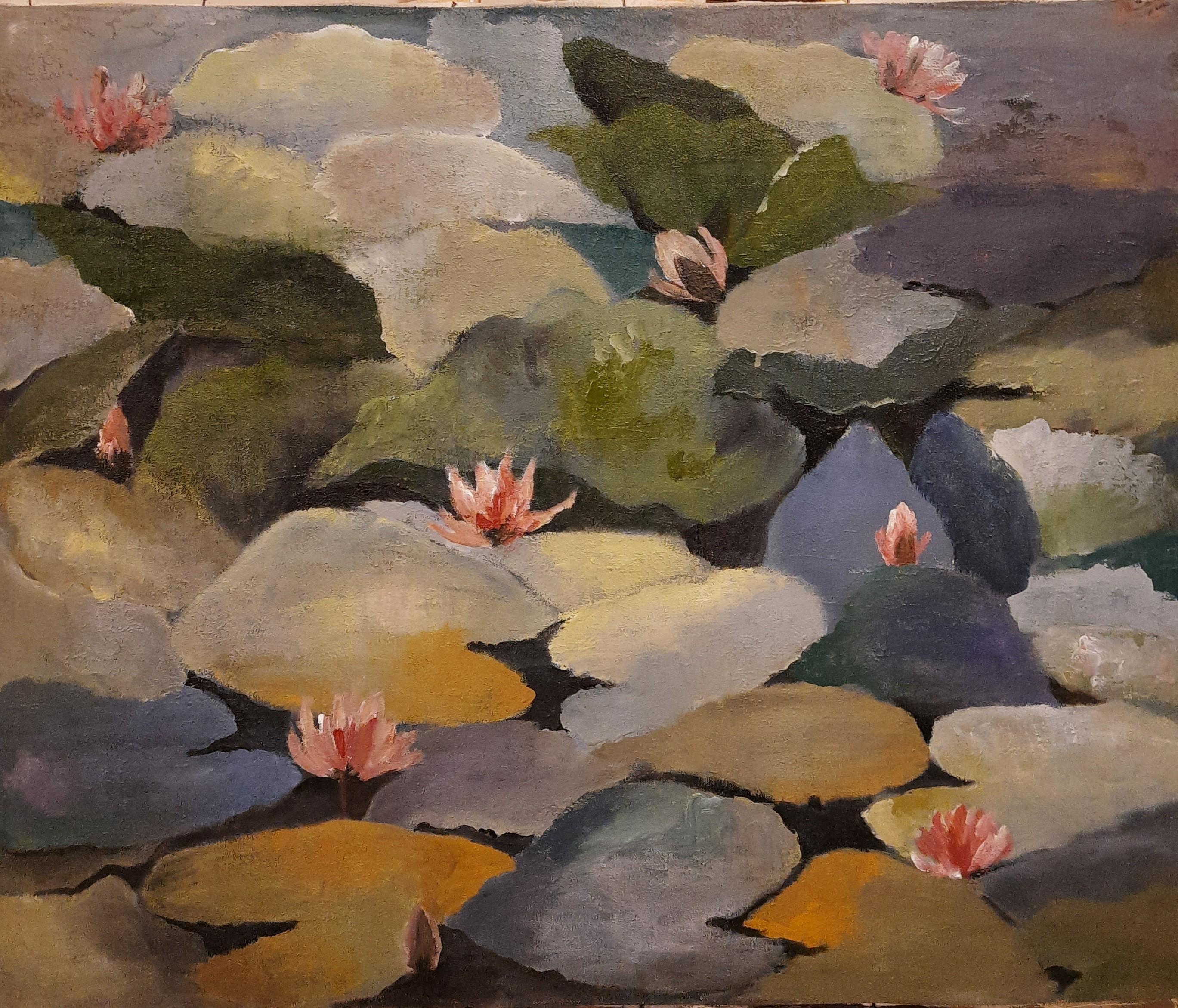 Colours of lilies by Jean wijesekera