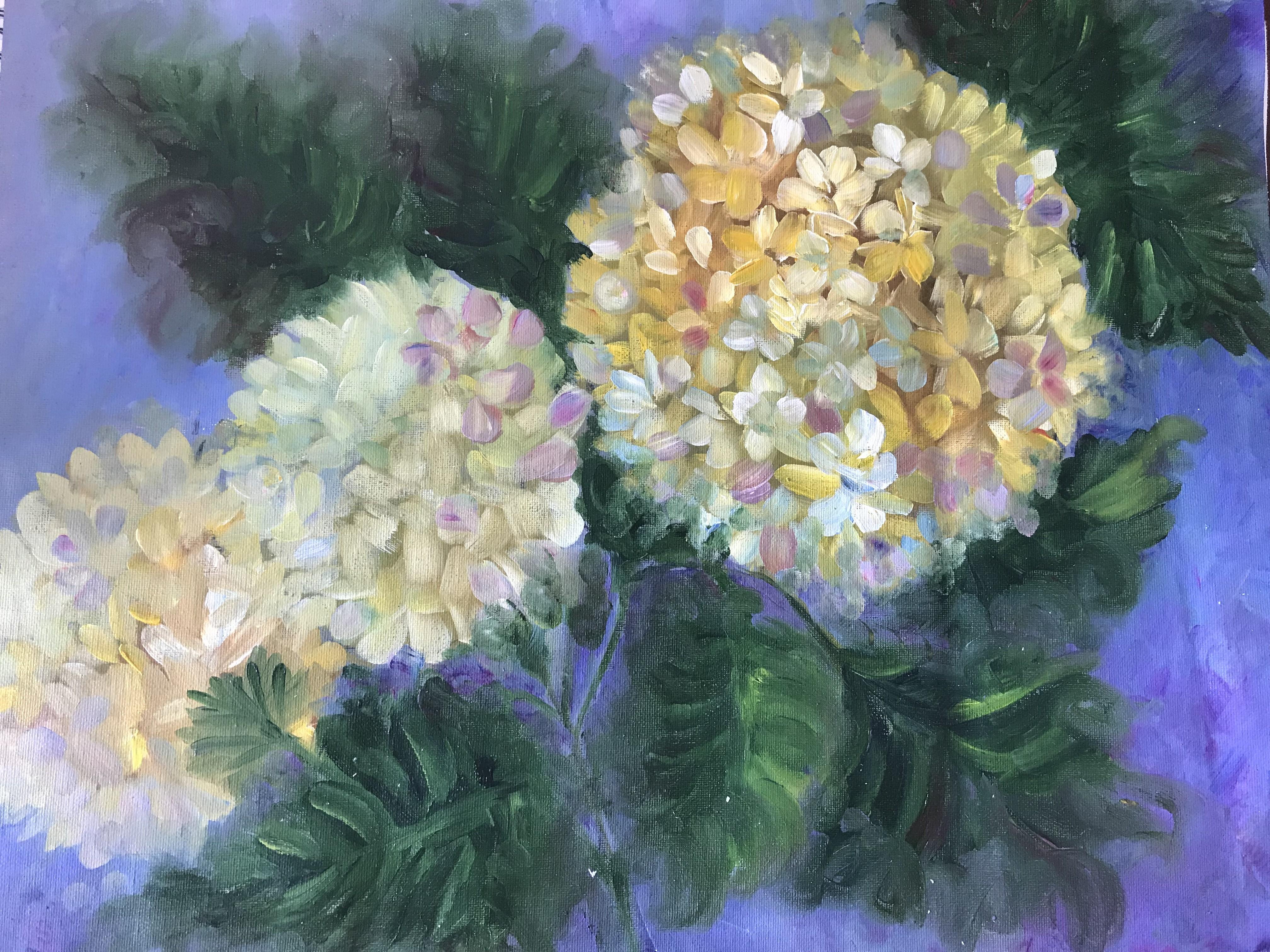 Hydrangeas by Thilini De Simon