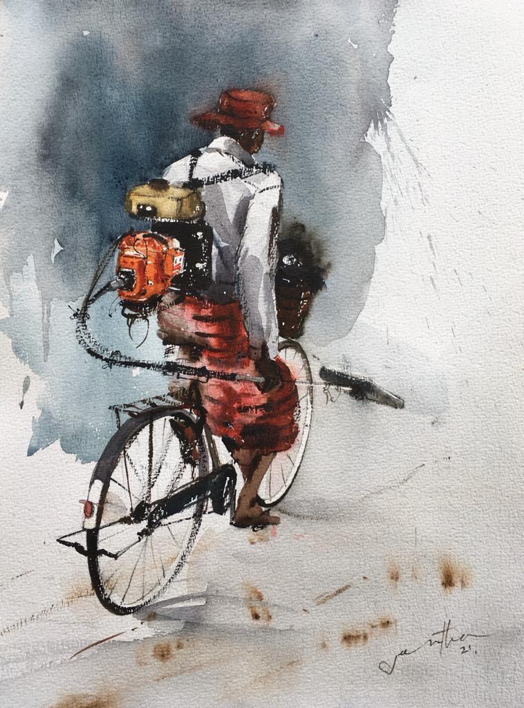 Worker by Jeewantha Samarakoon