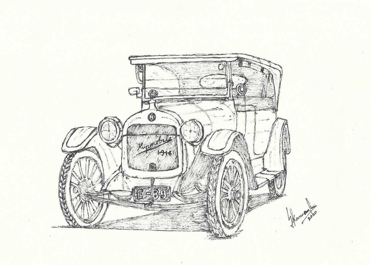 1916 Hupmobile by Lahiru Karunaratne