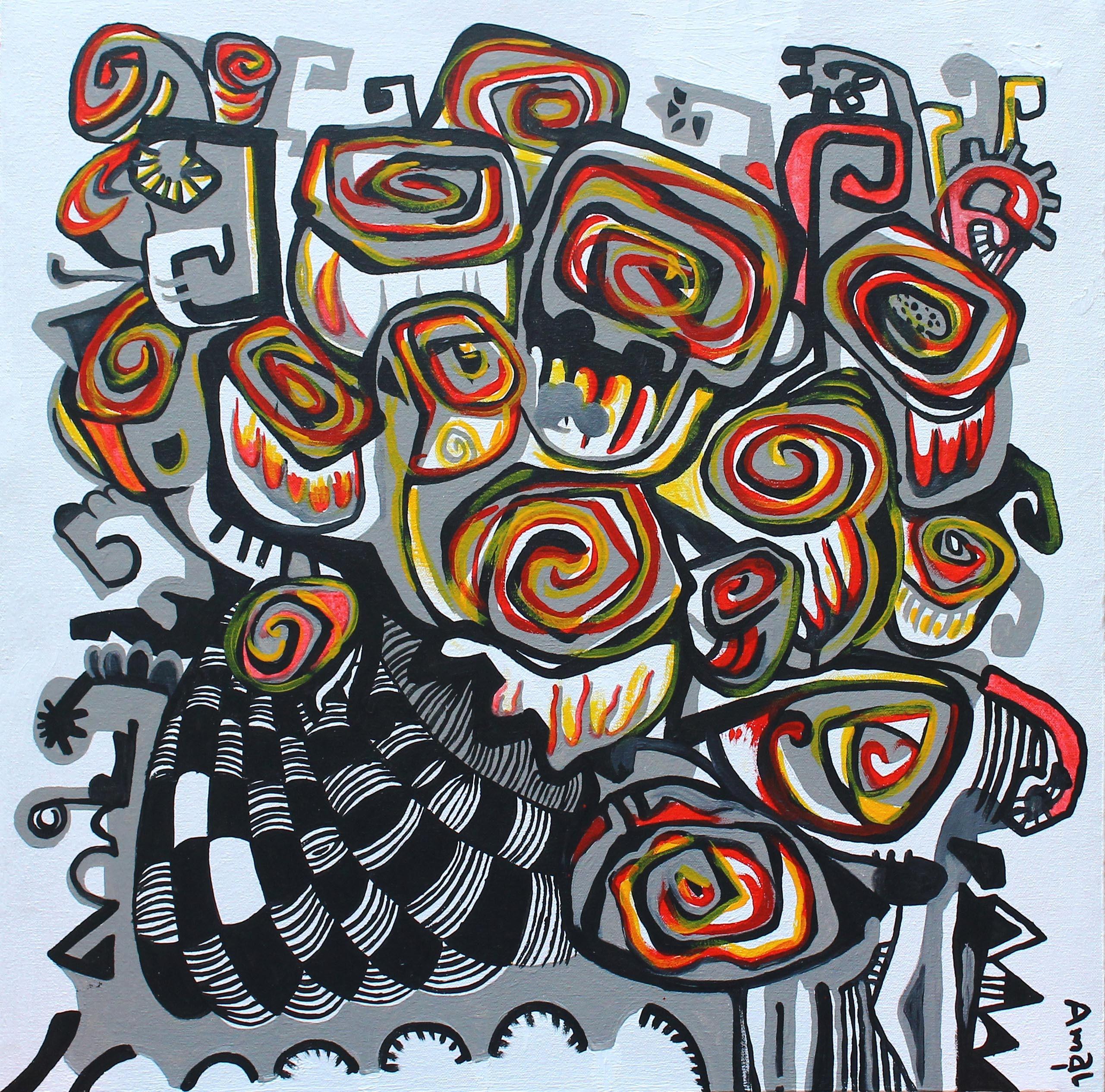 Black Roses by Amal Samaramanna