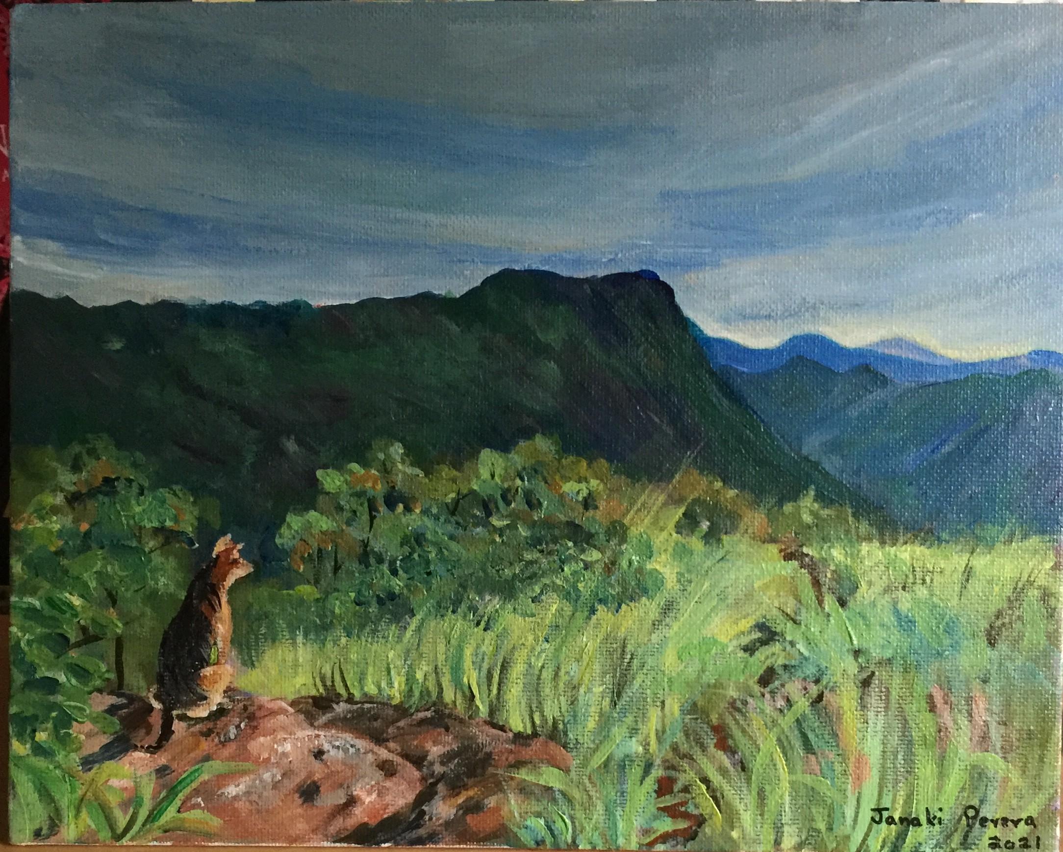 Ella - view from Amba Estate Ii by Janaki Perera