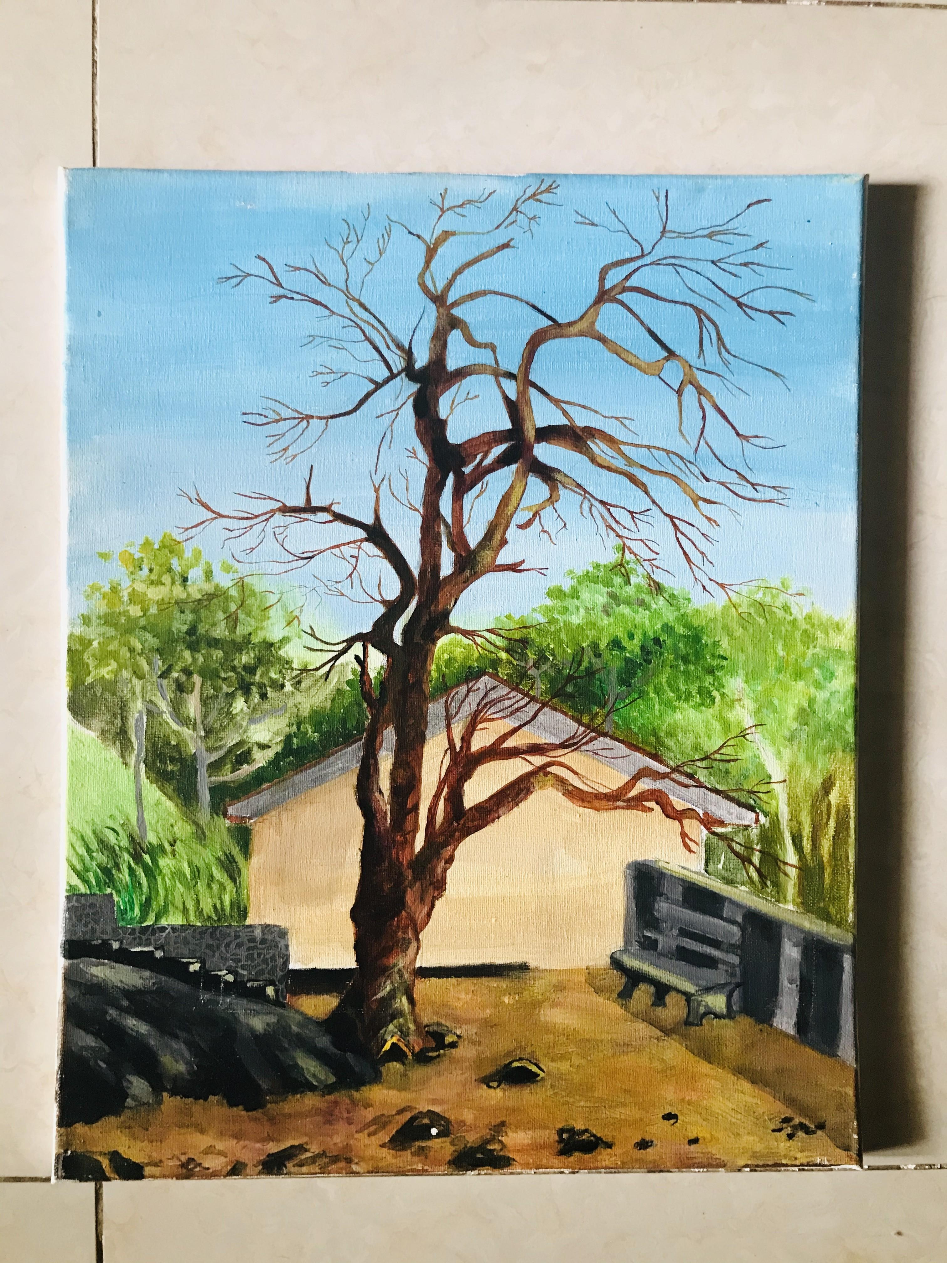 """ A silent Tree"" by Sanduni Bandara"