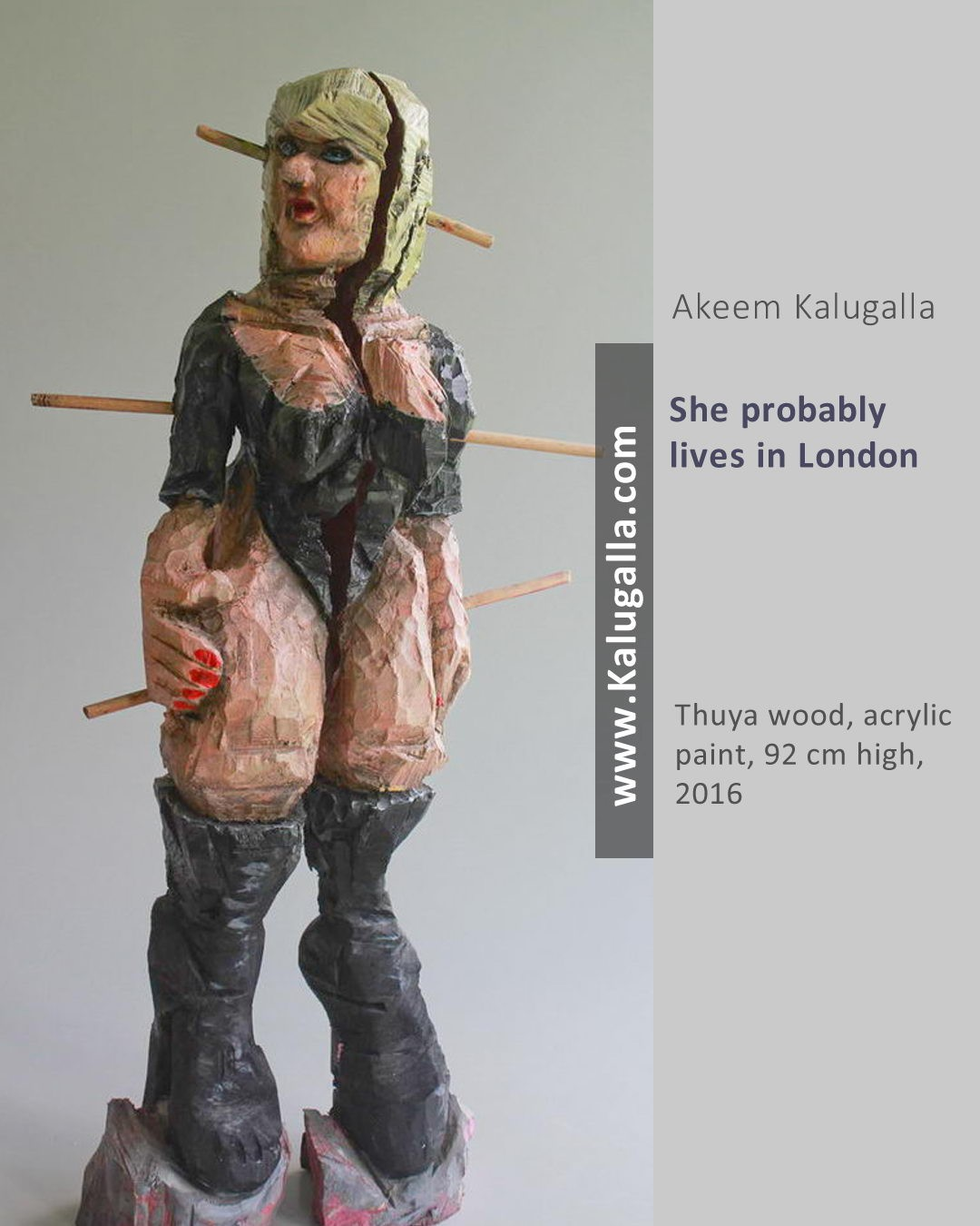 She probably lives in London by Akeem Kalugalla