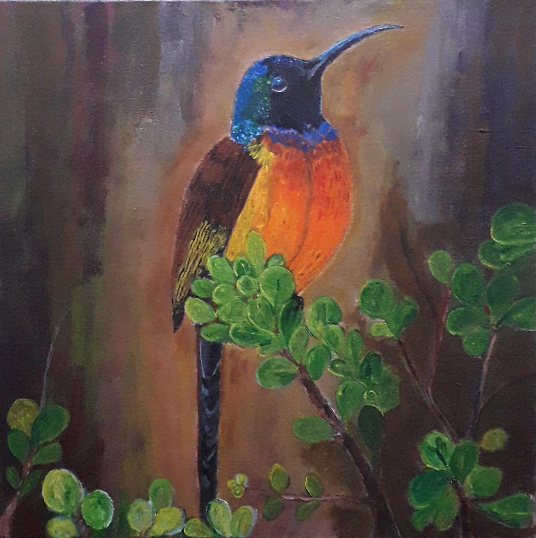Colorful Bird by Simpson David