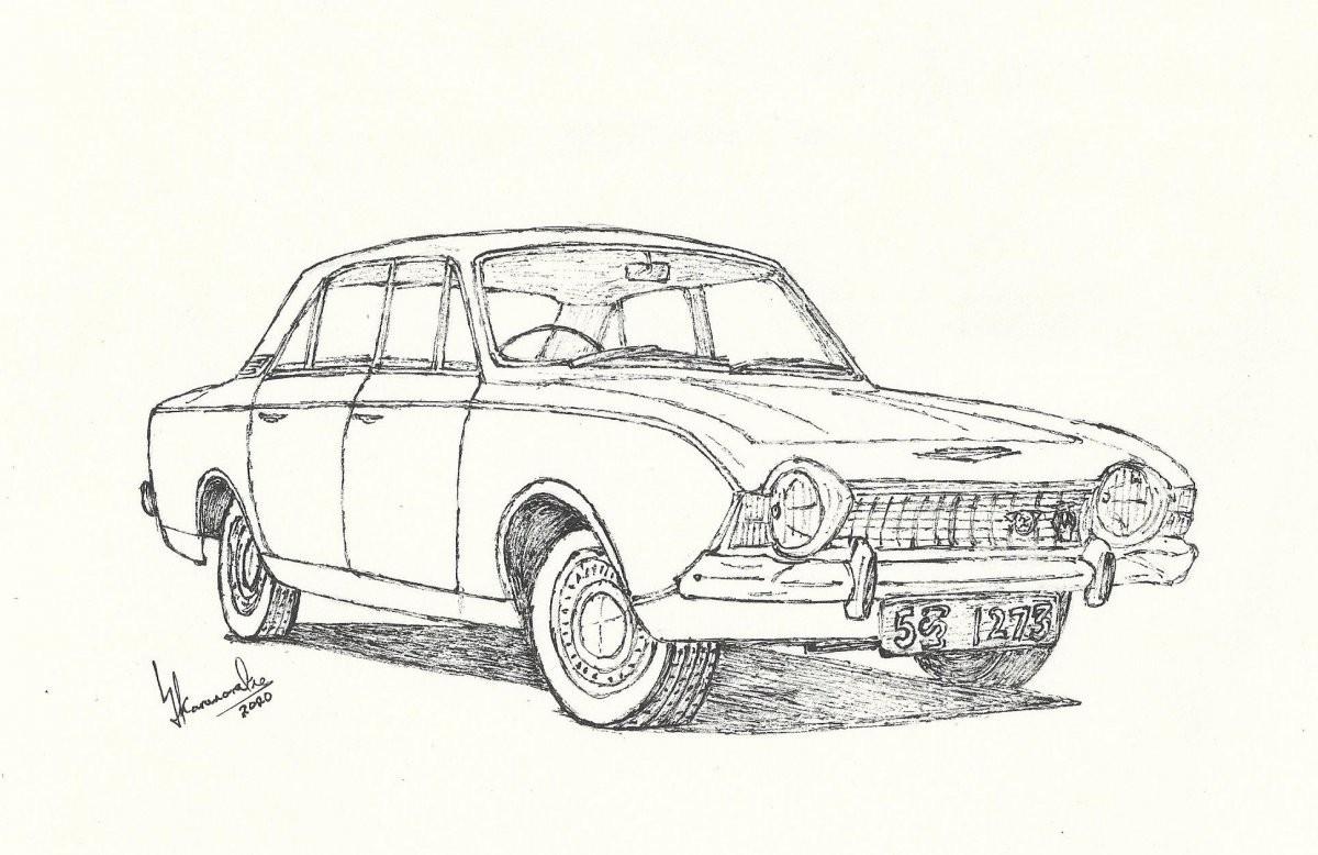 1967 Ford Corsair V4 Deluxe by Lahiru Karunaratne